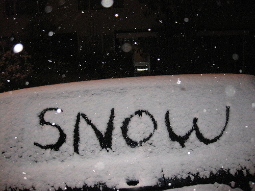 London snow - amazing stuff!